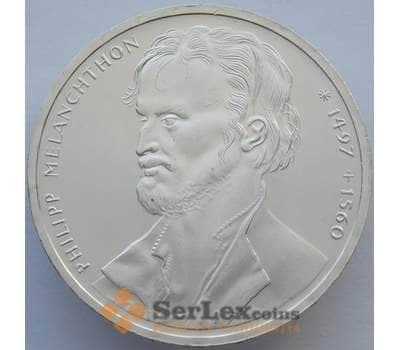 Германия 10 марок 1997 КМ189 UNC Филипп Меланхтон Серебро  (J05.19) арт. 16264