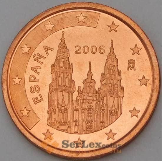 Испания 2 евроцента 2006 BU из набора арт. 28743