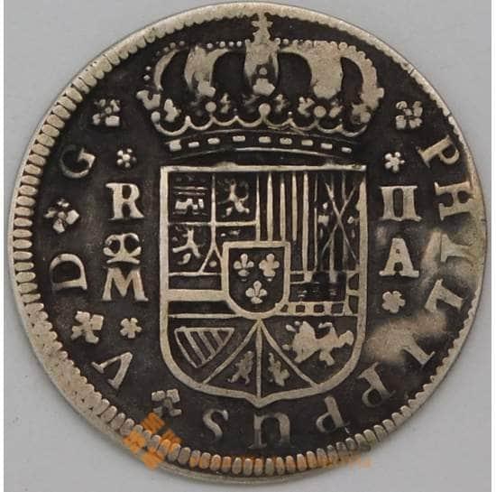 Испания 2 реала 1721 КМ296 VF арт. 23567