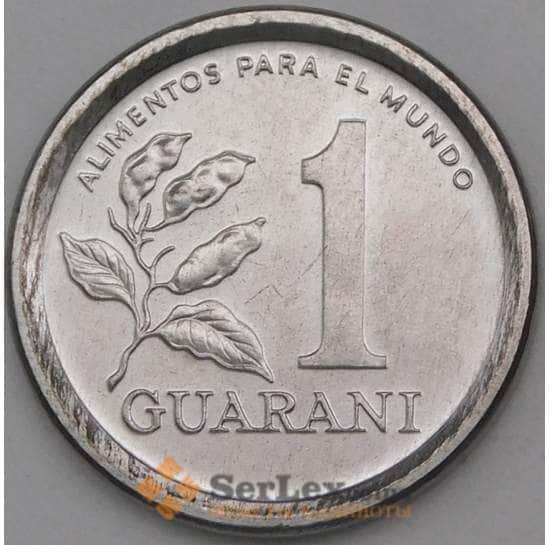Парагвай 1 гуарани 1984 КМ165 UNC арт. 27013
