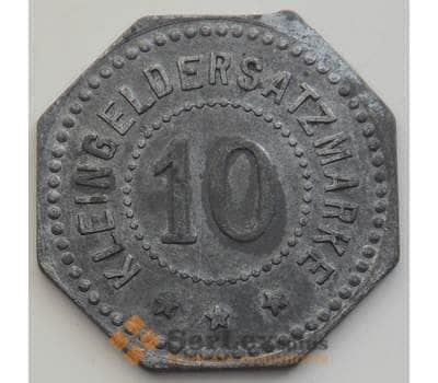 Германия нотгельд 10 марок 1917 XF Крайльсхайм арт. 12915
